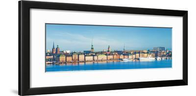 Buildings at Waterfront, Gamla Stan, Stockholm, Sweden--Framed Photographic Print