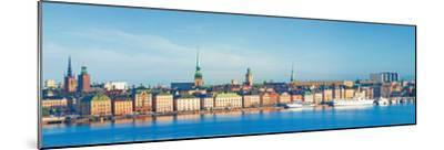 Buildings at Waterfront, Gamla Stan, Stockholm, Sweden--Mounted Photographic Print