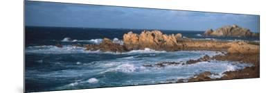 Rocks in the Sea, Le Diben, Morlaix Bay, Finistere, Brittany, France--Mounted Photographic Print