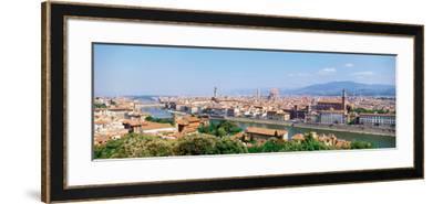 City Skyline Toscana Firenze Italy--Framed Photographic Print
