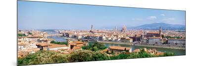 City Skyline Toscana Firenze Italy--Mounted Photographic Print