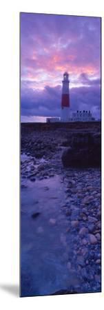 Lighthouse on the Coast, Portland Bill Lighthouse, Portland Bill, Dorset, England--Mounted Photographic Print