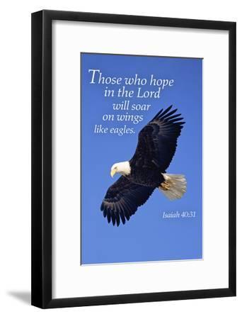 Isaiah 40:31 - Inspirational-Lantern Press-Framed Art Print