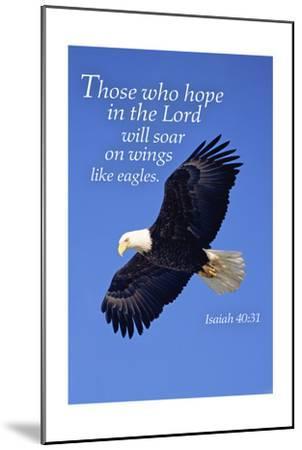 Isaiah 40:31 - Inspirational-Lantern Press-Mounted Art Print
