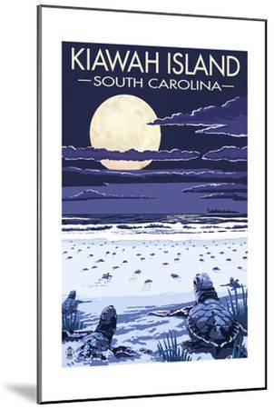 Kiawah Island, South Carolina - Sea Turtles Hatching-Lantern Press-Mounted Art Print