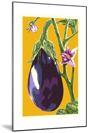 Eggplant-Lantern Press-Mounted Art Print