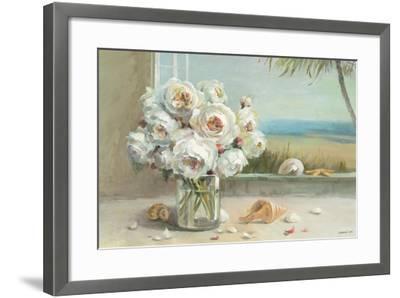Coastal Roses v.2-Danhui Nai-Framed Premium Giclee Print