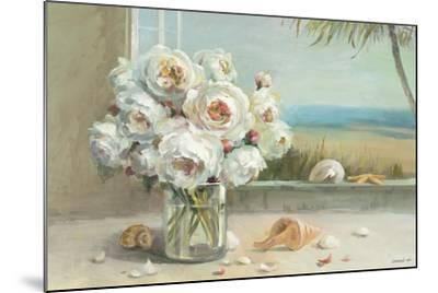 Coastal Roses v.2-Danhui Nai-Mounted Premium Giclee Print