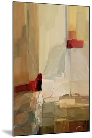 Mesa Panels I-James Burghardt-Mounted Art Print