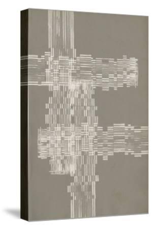 Stagger Start III-Jennifer Goldberger-Stretched Canvas Print