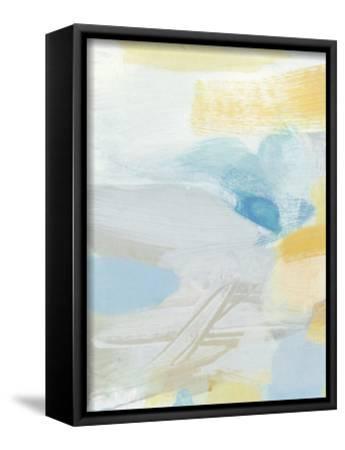 Glimpse-Christina Long-Framed Stretched Canvas Print
