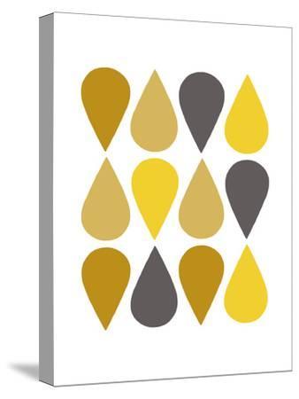 Raindrops III-Chariklia Zarris-Stretched Canvas Print