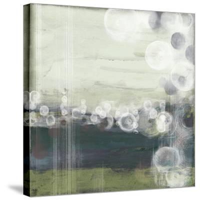Horizon Spheres I-Jennifer Goldberger-Stretched Canvas Print