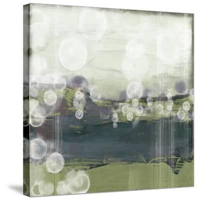 Horizon Spheres II-Jennifer Goldberger-Stretched Canvas Print