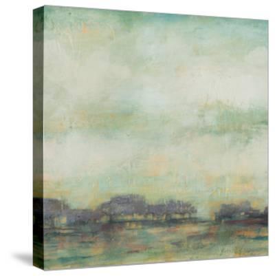 Treeline Sunrise I-Jennifer Goldberger-Stretched Canvas Print