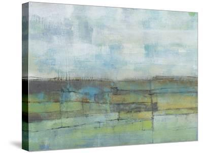 Tiered Farmland I-Jennifer Goldberger-Stretched Canvas Print