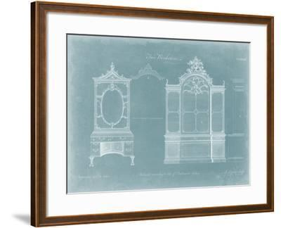 Two Bookcases-Thomas Chippendale-Framed Art Print