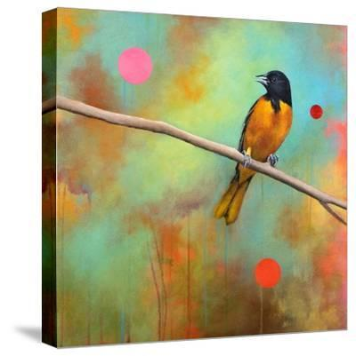 Mysteries of the Universe II-Bridget G^ Evans-Stretched Canvas Print