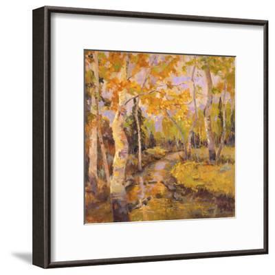 Four Seasons Aspens III-Nanette Oleson-Framed Art Print