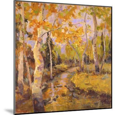 Four Seasons Aspens III-Nanette Oleson-Mounted Art Print