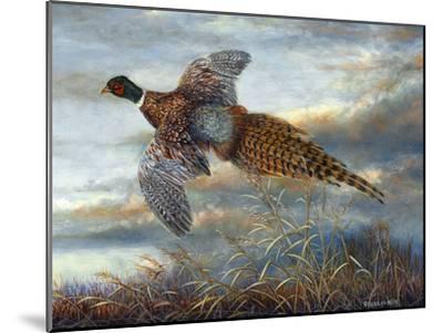 Taking Flight-Carolyn Mock-Mounted Premium Giclee Print