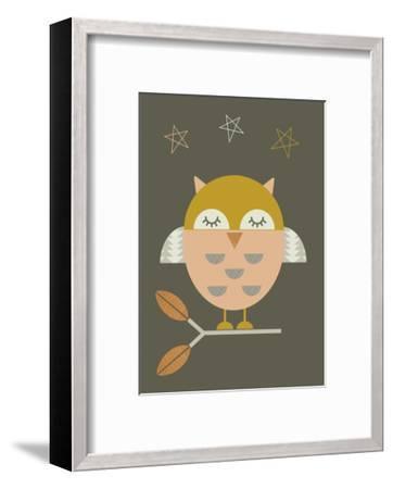 Little Owl-Little Design Haus-Framed Giclee Print