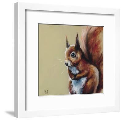 Bushy Tailed-Louise Brown-Framed Giclee Print