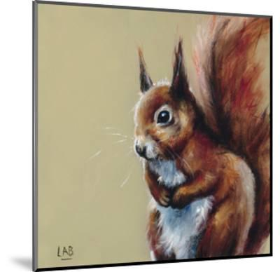 Bushy Tailed-Louise Brown-Mounted Giclee Print
