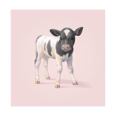 Cow-John Butler Art-Framed Giclee Print