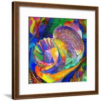 In a Halcyon Sea-Jane Tattersfield-Framed Giclee Print