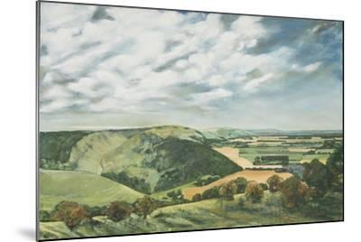 Devil's Dyke Poynings, 1989-Margaret Hartnett-Mounted Giclee Print
