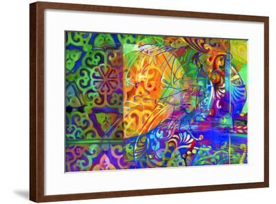 Dapples the Drowsy East-Jane Tattersfield-Framed Giclee Print