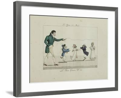 Le Bon Genre: Observations About the Parisian Fashion and Customs-Pierre Antoine Leboux De La Mesangere-Framed Giclee Print