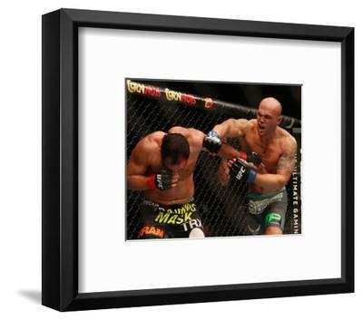 UFC 181 - Hendricks v Lawler-Josh Hedges-Framed Photo