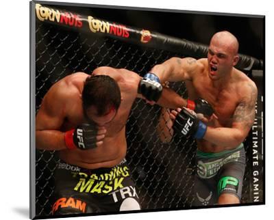 UFC 181 - Hendricks v Lawler-Josh Hedges-Mounted Photo