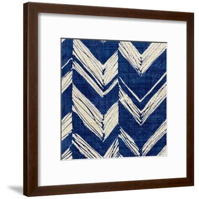 Indigo Batik II-Hugo Wild-Framed Art Print