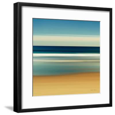 Sea Stripes II-Katherine Gendreau-Framed Premium Giclee Print