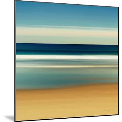 Sea Stripes II-Katherine Gendreau-Mounted Premium Giclee Print
