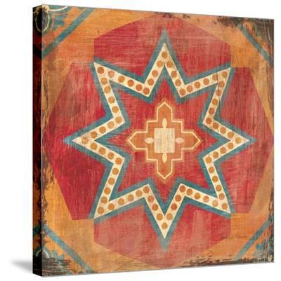 Moroccan Tiles VII-Cleonique Hilsaca-Stretched Canvas Print
