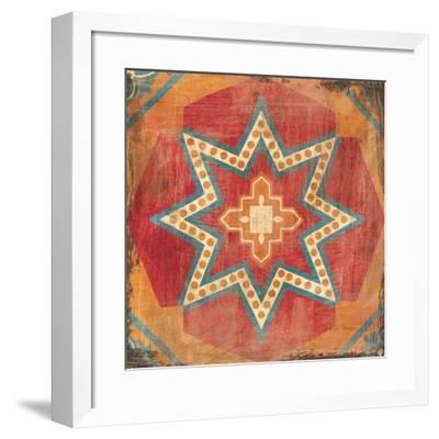 Moroccan Tiles VII-Cleonique Hilsaca-Framed Art Print
