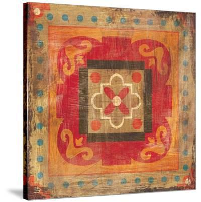 Moroccan Tiles XII-Cleonique Hilsaca-Stretched Canvas Print