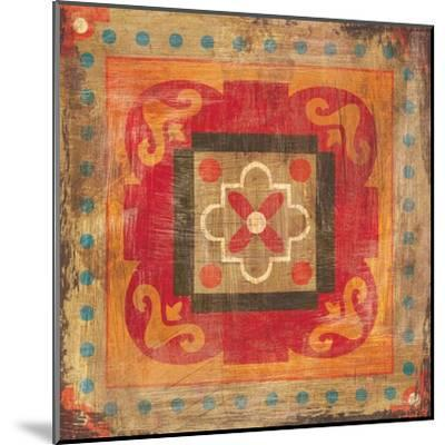 Moroccan Tiles XII-Cleonique Hilsaca-Mounted Art Print