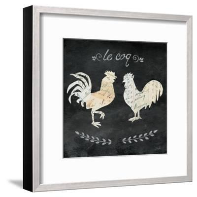 Le Coq Cameo Sq-Courtney Prahl-Framed Art Print