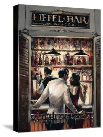 Eiffel Bar-Brent Heighton-Stretched Canvas Print