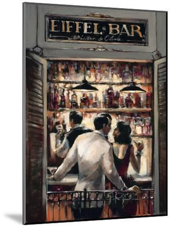 Eiffel Bar-Brent Heighton-Mounted Premium Giclee Print