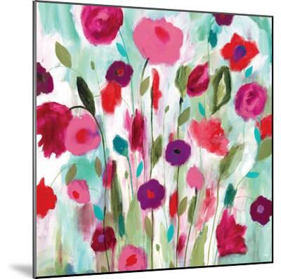 Happy Garden-Carrie Schmitt-Mounted Premium Giclee Print