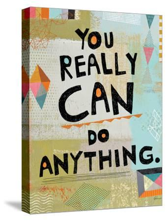 Awesome Words 4-Richard Faust-Stretched Canvas Print
