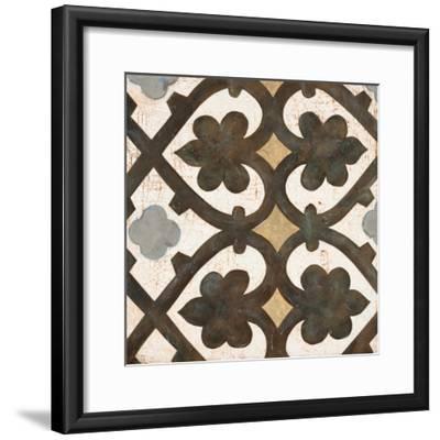 Winery Villa Tile 2-Arnie Fisk-Framed Premium Giclee Print