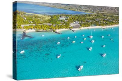 Le Morne Brabant Peninsula, Black River (Riviere Noire), West Coast, Mauritius-Jon Arnold-Stretched Canvas Print