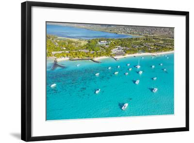 Le Morne Brabant Peninsula, Black River (Riviere Noire), West Coast, Mauritius-Jon Arnold-Framed Photographic Print